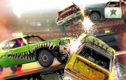 DIRT ShowDown Colisiones