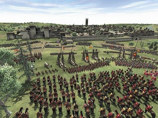 Fig. 4 Medieval Total War II